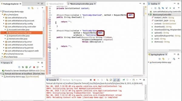 Building Secure JavaEE Applications