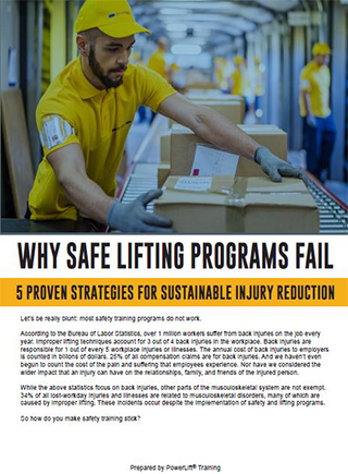Safe Lifting Programs