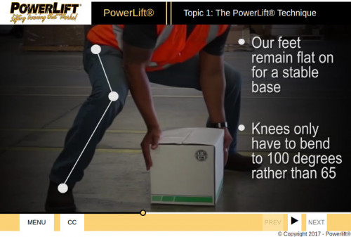 PowerLift® Training – Online Overview