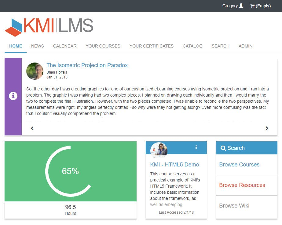 KMI Learning LMS