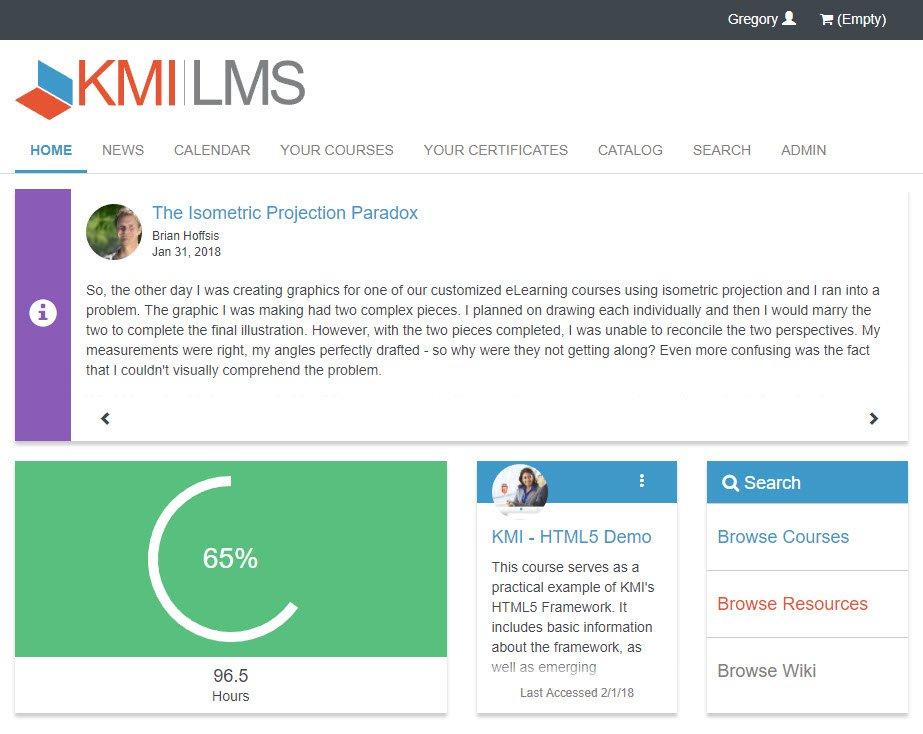 KMI Learning LMS