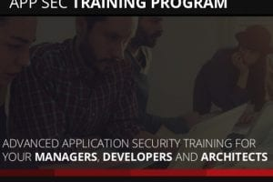 APP security training