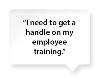 Employee training comment