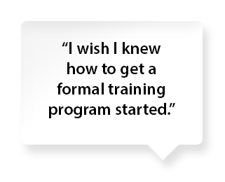 formal training comments