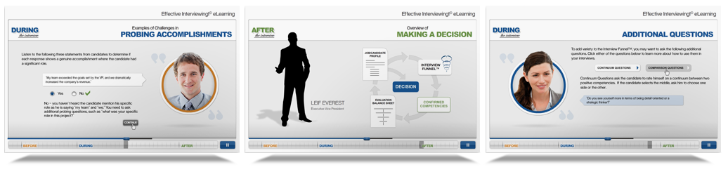 Effective interviewing Elearning