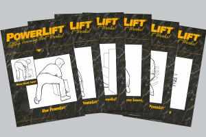 PowerLift® Poster Bundle 6 Pack