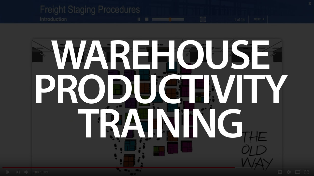 Warehouse Productivity training