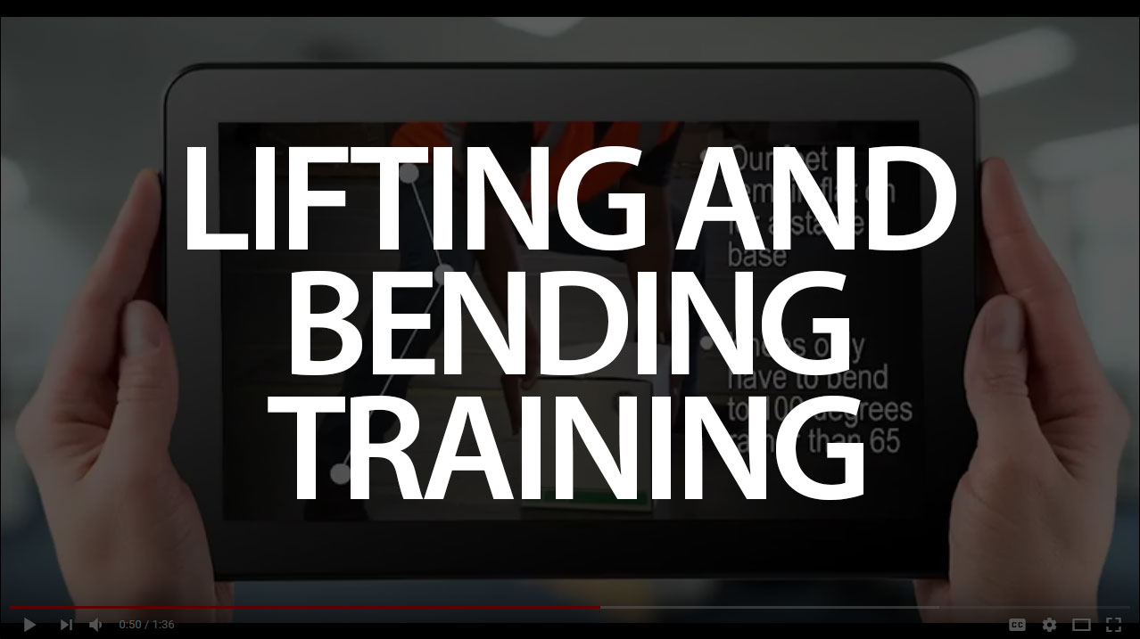 Lifting and bending training