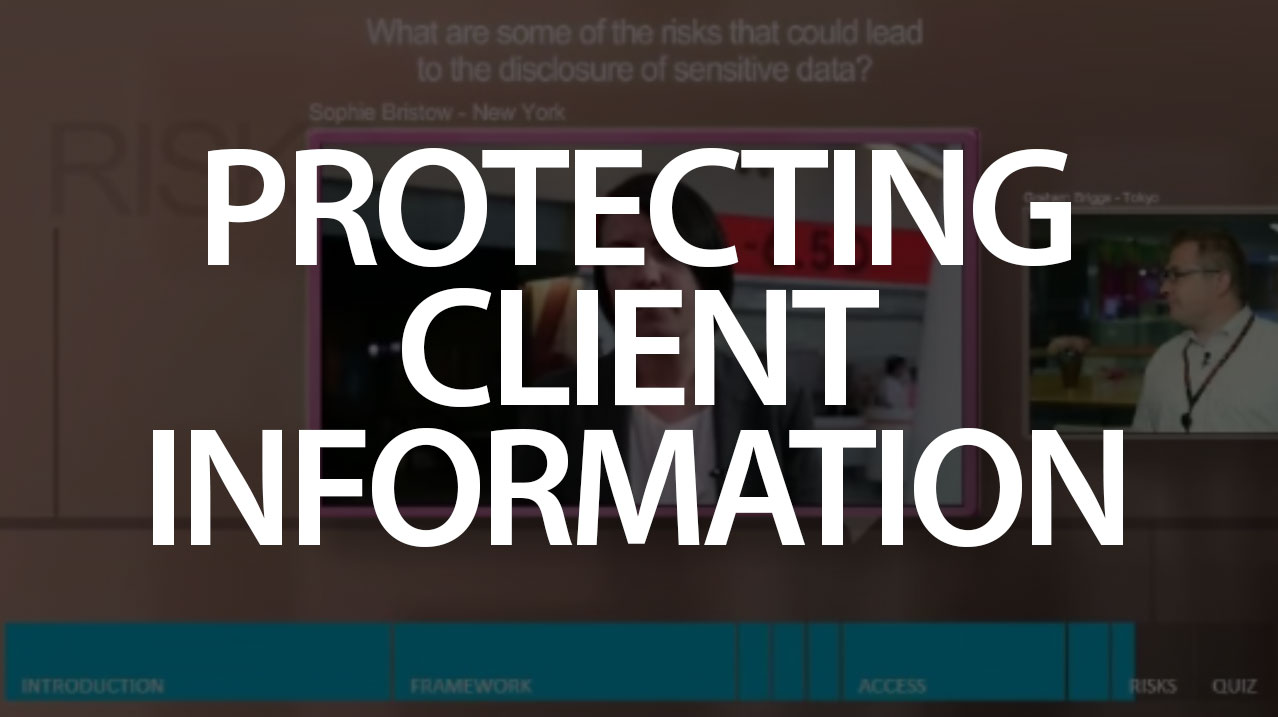 Protecting client Information