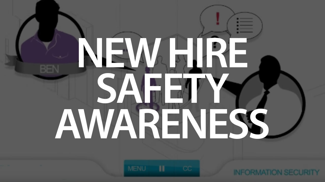 New hire safety awareness logo