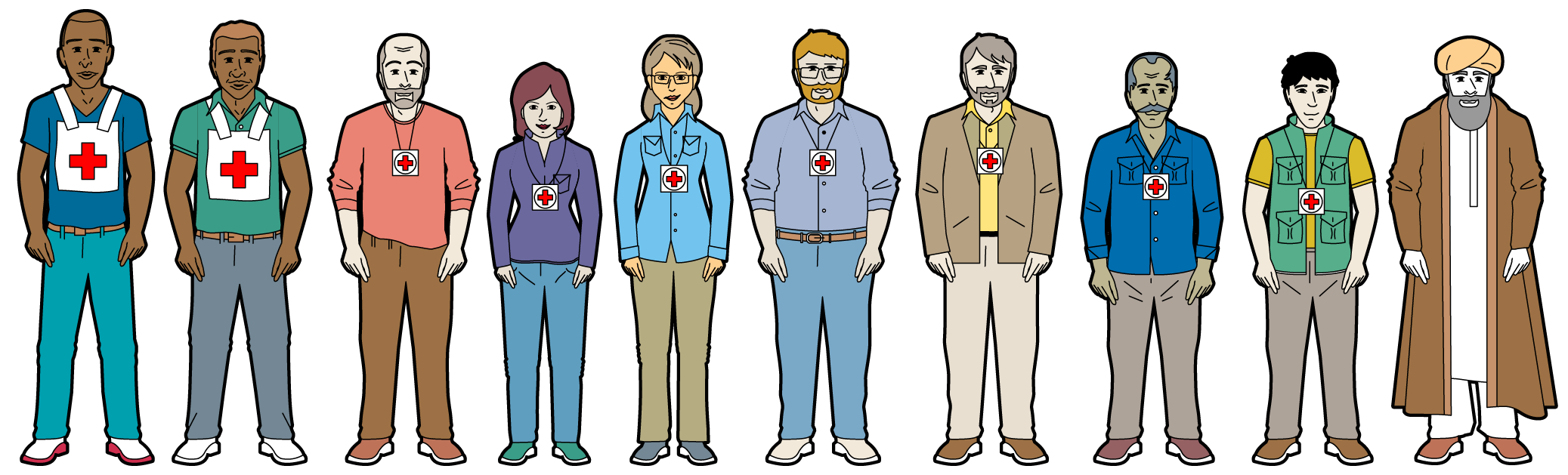 A Group of Different Character