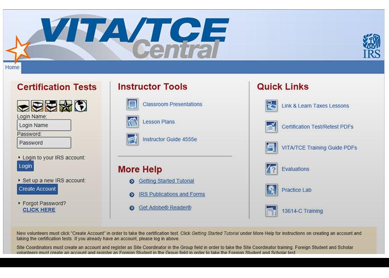 VITA/TCE Central